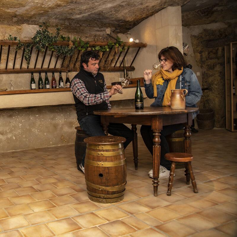 La Maison Darragon - Dégustation de vin à Vouvray (37)